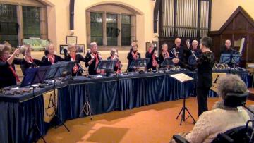 Alton Handbell Ringers at Rudyard