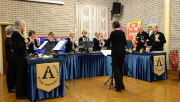 Alton Handbell Ringers at Milton, 2016
